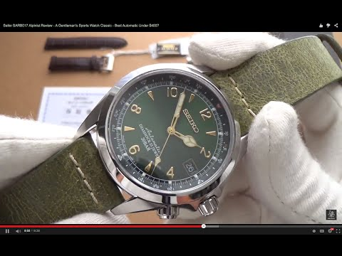 Seiko SARB017 Alpinist Review – A Gentleman's Sports Watch Classic – Best Automatic Under $400?