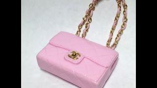 Miniature Chanel Bag / Polymer Clay Tutorial 폴리머클레이로 미니어쳐 샤넬 가방 만들기
