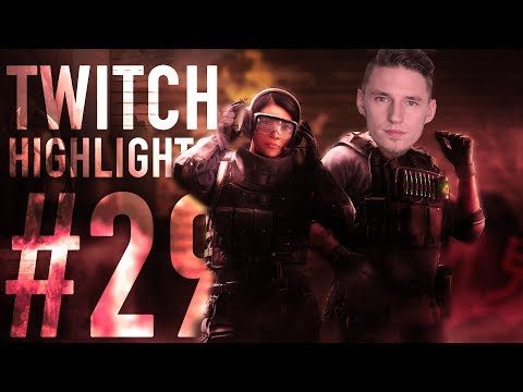 THIS TEAM IS FALLING APART - Rainbow Six: Siege - Twitch Highlights #29