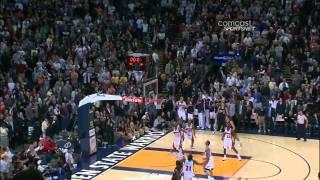 LeBron James Gamewinner vs Golden State Warriors!