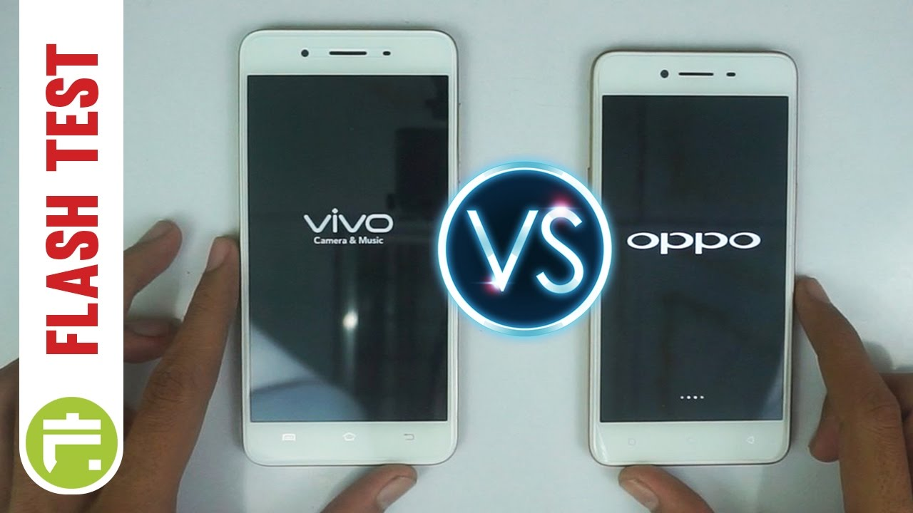 SPEED TEST Vivo Y55s Vs Oppo A37 By Flash Gadget