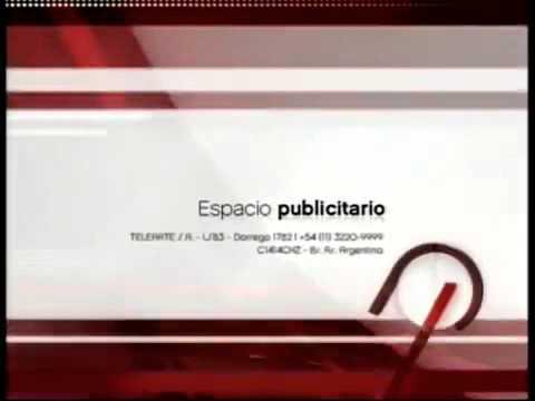 Separador Espacio Publicitario de LS 83 TV Canal 9 Buenos Aires Telearte S A  ahora con música