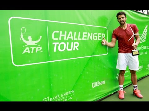 Janko Tipsarevic vs. Blaz Kavcic - Final Bangkok 2017 [Highlights]