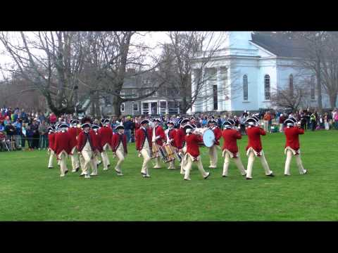 United States Army Old Guard - Fife and Drum Corps -Lexington MA   April 19, 2014