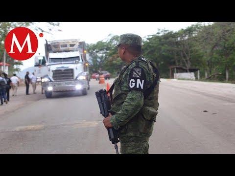Guardia Nacional vigila frontera sur de Tabasco