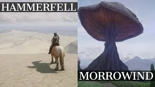 Reunited Tamriel: Morrowind and Hammerfell | New MASSIVE Skyrim Mod! | Gameplay Demo