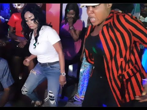 Checkout Toyin Abraham vs Iyabo Ojo in a Shaku Shaku Dance Competition at Abula Spot At Lekki