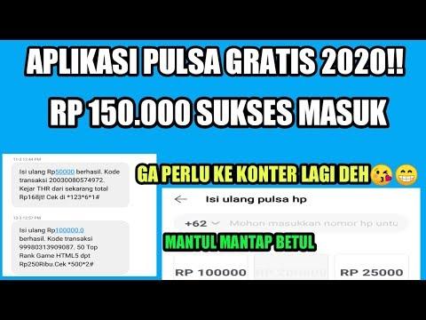 DAPAT PULSA GRATIS Rp 150.000 - APLIKASI PENGHASIL PULSA GRATIS 2020 - 동영상