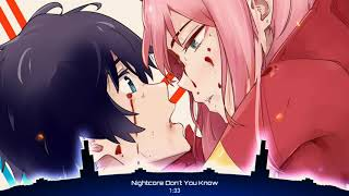 Nightcore - Don't You Know