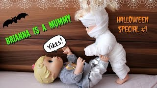 Baby Alive Halloween Special Brianna is a Mummy 🎃 Video