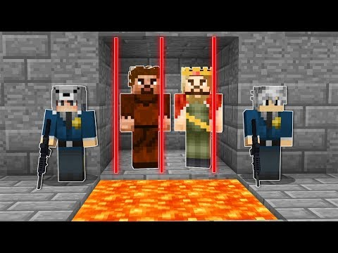 BİZ ZENGİN VE FAKİRİ HAPSE ATTIK! ?  - Minecraft thumbnail