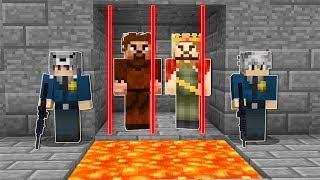 BİZ ZENGİN VE FAKİRİ HAPSE ATTIK! 😱  - Minecraft