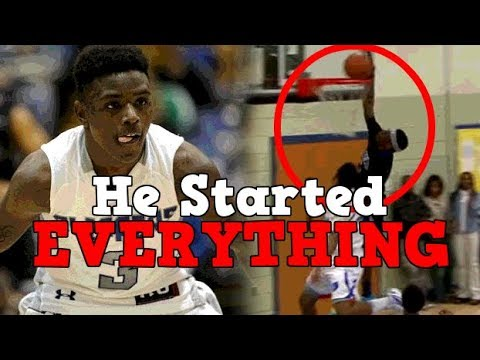 The High School Basketball Player Who Started Everything