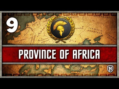 AN EMPIRE IS FORMED | African Empire #9 - Mini Campaign Terminus Total War Imperium