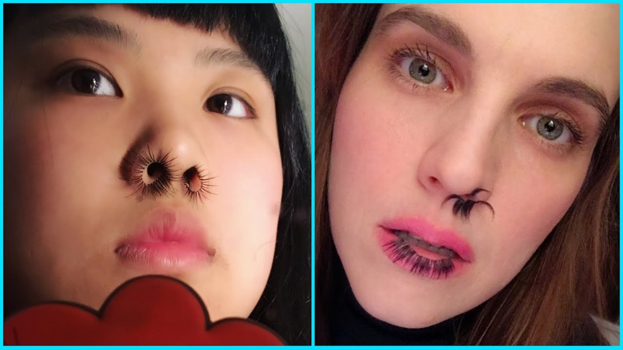 Nose Hair Extensions Tutorial Youtube