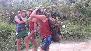 Iniciativa piloto de fornecimento de água potável para aldeias Yanomami do rio Marauiá
