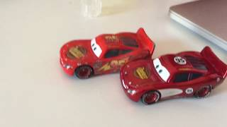 Cars Radiator Springs Lightning McQueen Diecast Review