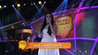 Programa Raul Gil - Sarah Raquel (Descansarei) - Mulheres que Brilham