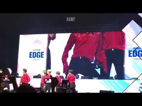 170923 Seventeen Diamond Edge in Jakarta - Wonwoo If I sexy dance time
