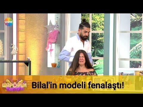 Bilal'in modeli fenalaştı!