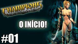O MELHOR RPG DE TODOS OS TEMPOS! - CHAMPIONS RETURN TO ARMS - EP01 [PT-BR] 🎮