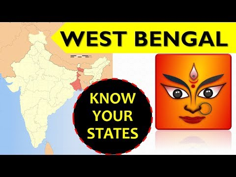 West Bengal GK - Information about West Bengal state - General Knowledge for Entrance Exams