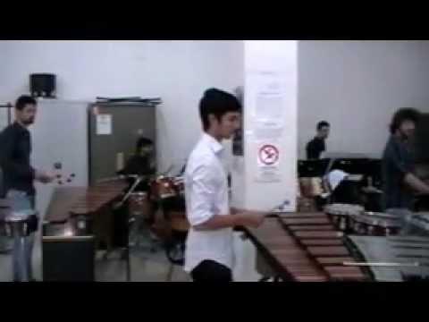Aula 44 - Concerto finale di percussioni (conservatorio N. Piccinni-Bari) con Sergio Izquierdo