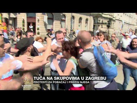 Zagreb: Tuča na skupovima za i protiv pobačaja