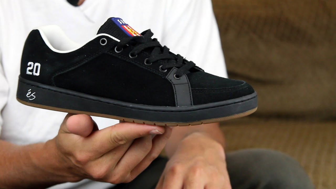 b0482a33a7 eS Sal 20 Skate Shoes Review - Tactics.com - YouTube