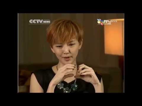 孫燕姿 Stefanie Sun - CCTV UPCLOSE 全英語訪談 (CCTV UPCLOSE Interview in English)【20140405】