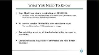 Blue Cross Blue Shield Client Options