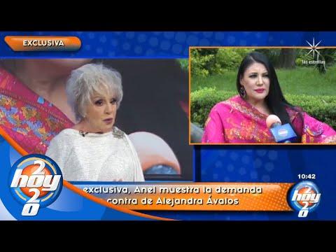 Anel, profundamente molesta, demanda a Alejandra Ávalos por sus comentarios | Hoy