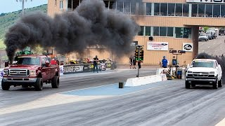 1/4-Mile Drag Race – Diesel Power Challenge 2016