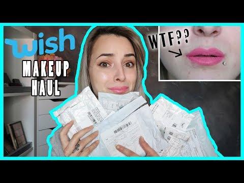 Testiranje Makeupa iz WISH | *VELIK FAIL*