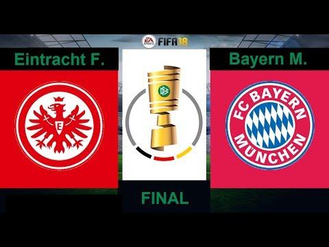 Bayern Munich vs Eintracht Frankfurt ⚽️ 🔴 | DFB POKAL FINAL 2017/18 | 19/05/2018