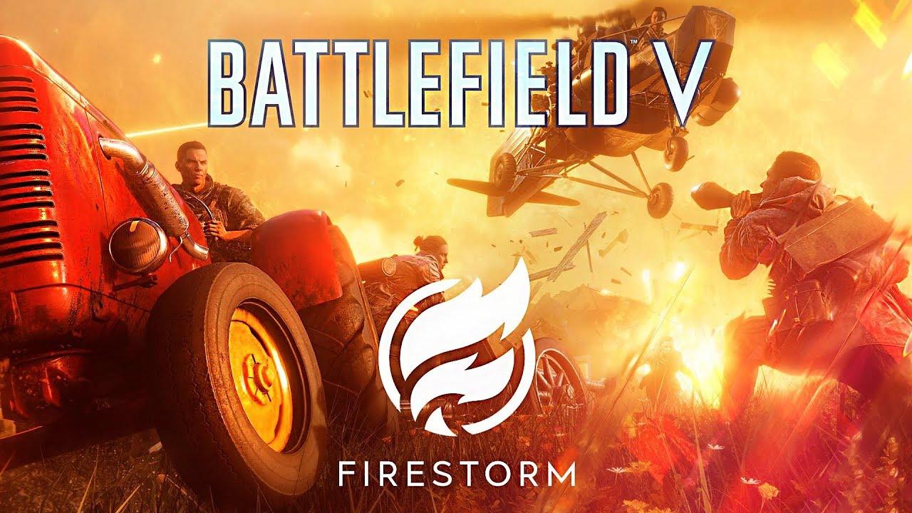 NEW* BATTLE ROYALE GAME!! (Battlefield V Battle Royale: Firestorm
