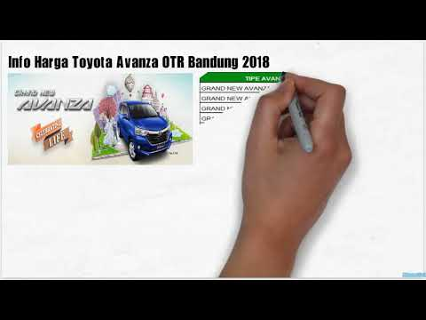 Otr Grand New Avanza 2016 Type G Harga Grend Toyota Wijaya Dago Bandung Youtube