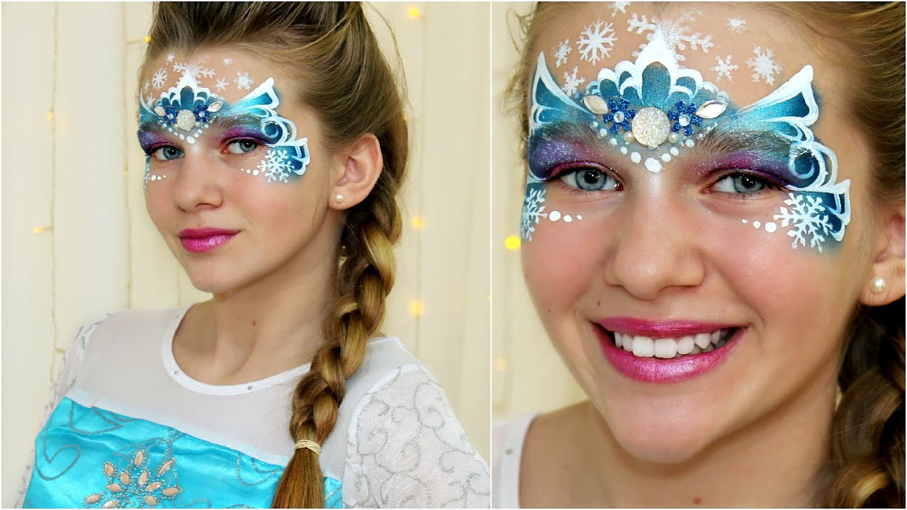 Elsa Crown Quot Frozen Quot Snow Princess Christmas Face