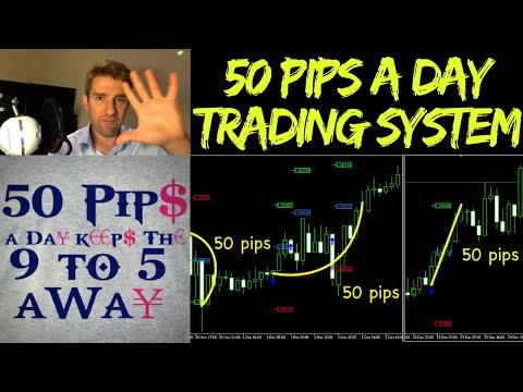 50 PIPS a Day Forex Trading Strategy 😵