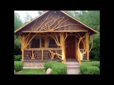 Интересный проект дома из бревна. Дом из бревна мечта.