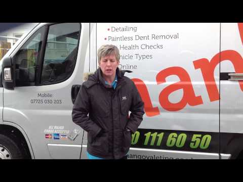 Shropshire's Leading Mobile Valeting Company Mango Valeting - End Of Lease Valet Testimonial
