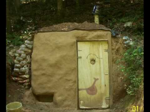 & building the root cellar - YouTube