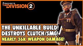 The Division 2 - The Unkillable PVP/Raid Build! Destroys Vector/Clutch Build!