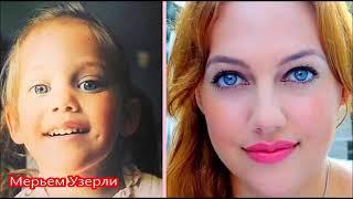 Турецкие актрисы и актеры в детстве