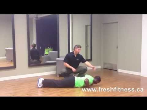 Push up - Fitness Video Tips - Learn How to do PROPER Push-ups