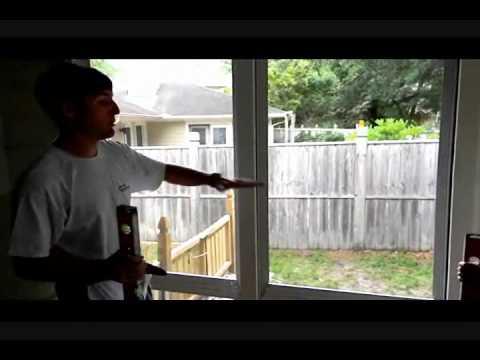 How To Line Up And Level Three Season Sunroom Eze Breeze Vinyl Windows