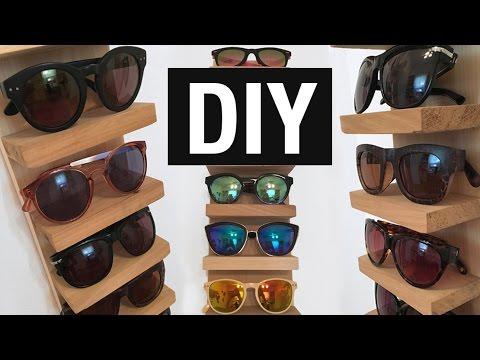 86958d5c4f Organizador de lentes/gafas de sol DIY | Superholly - YouTube