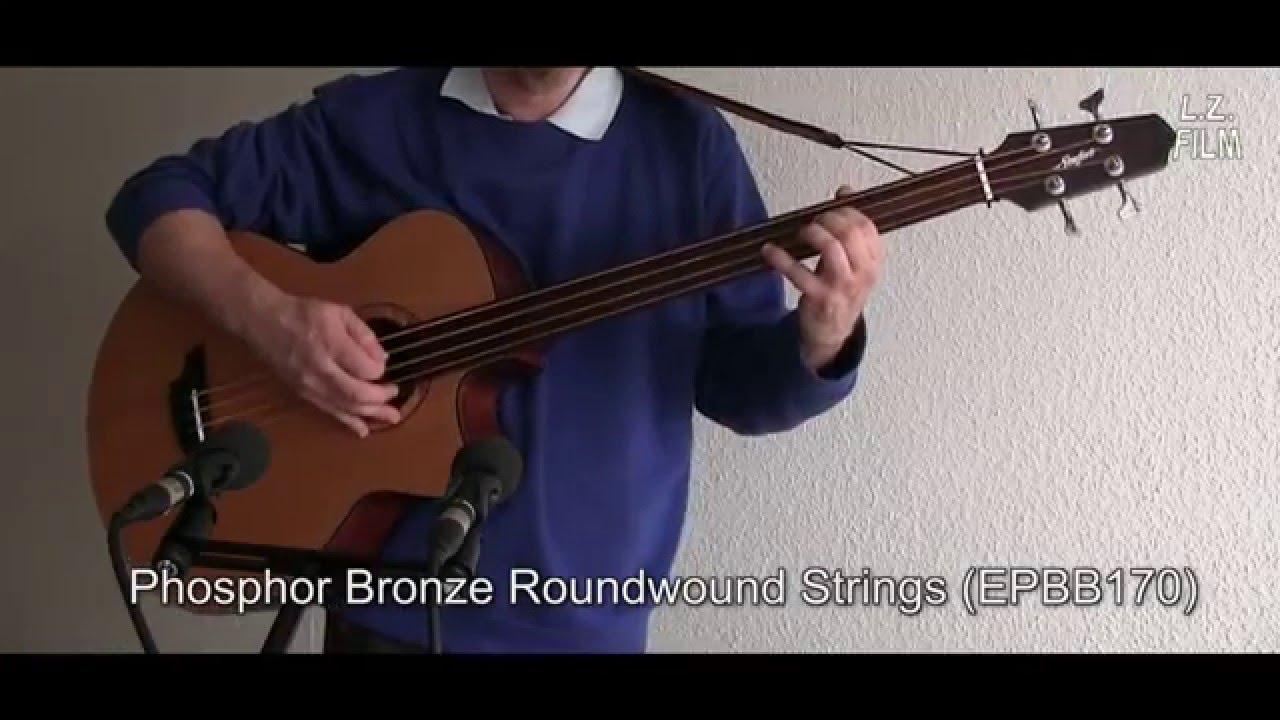 string comparison fretless acoustic bass guitar youtube. Black Bedroom Furniture Sets. Home Design Ideas