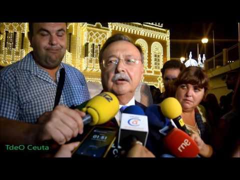 Inaguración del alumbrado del Real de la Feria de Ceuta 2016