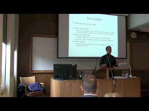 ENPOSS 2016: Brian Epstein - What are social groups?